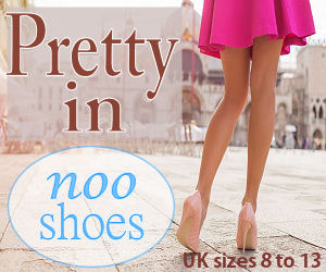 Noo Shoes Sizes 8 to 13 UK.